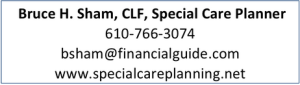 Bruce H. Sham, CLF, Special Care Planner